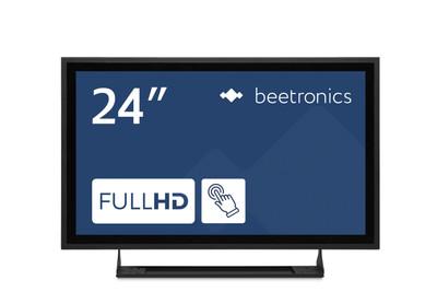 24 inch touchscreen metal