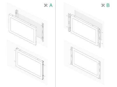 8 inch touchscreen metal (4:3)